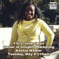Y.U.L. Interviews Keshia Walker