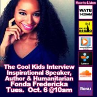 The Cool Kids Interview Fonda Fredericka