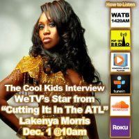 The Cool Kids Interview LaKenya Morris