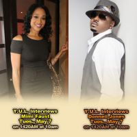 Mimi Faust and Donnell Jones on YUL