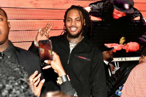 "ATLANTA, GEORGIA - MARCH 10: Waka Flocka attends the premiere of ""Waka & Tammy: What The Flocka"" at Republic on March 10, 2020 in Atlanta, Georgia. (Photo by Paras Griffin/Getty Images WE tv)"