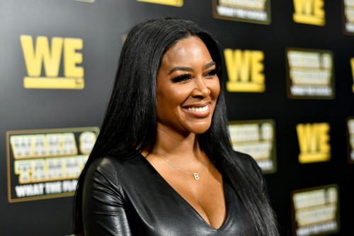 "ATLANTA, GEORGIA - MARCH 10: Kenya Moore attends the premiere of ""Waka & Tammy: What The Flocka"" at Republic on March 10, 2020 in Atlanta, Georgia. (Photo by Paras Griffin/Getty Images WE tv)"