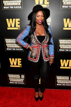 "ATLANTA, GEORGIA - MARCH 10: Kandi Burruss attends the premiere of ""Waka & Tammy: What The Flocka"" at Republic on March 10, 2020 in Atlanta, Georgia. (Photo by Paras Griffin/Getty Images WE tv)"