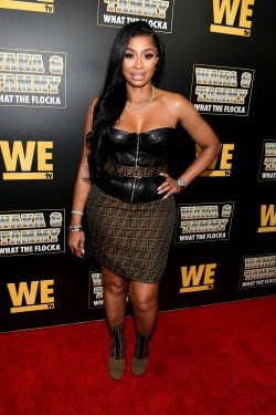 "ATLANTA, GEORGIA - MARCH 10: Karlie Redd attends the premiere of ""Waka & Tammy: What The Flocka"" at Republic on March 10, 2020 in Atlanta, Georgia. (Photo by Paras Griffin/Getty Images WE tv)"