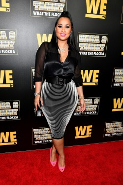 "ATLANTA, GEORGIA - MARCH 10: Tammy Rivera attends the premiere of ""Waka & Tammy: What The Flocka"" at Republic on March 10, 2020 in Atlanta, Georgia. (Photo by Paras Griffin/Getty Images WE tv)"