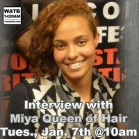 Y.U.L. Interviews Miya Queen of Hair