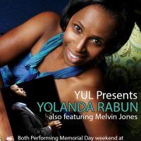 YUL presents Yolanda Rabun and Melvin Jones for the Atlanta Jazz Festival