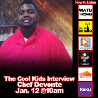 The Cool Kids Interview Chef Devonte