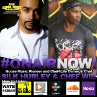 The Cool Kids Interview Chef Wic & Silk Hurley