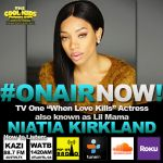 The Cool Kids Interview Niatia Kirkland [Originally Aired 09.05.2017]