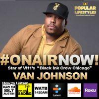 Sejoya Interviews Van Johnson for The Harmony & Zione Morning Show