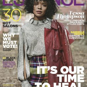 Tessa Thompson graces ESSENCE'S November Cover issue!