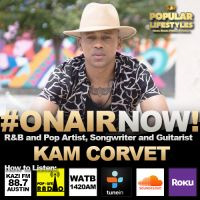 Sejoya Interviews Artist Kam Corvet for the Harmony & Zione Morning Show