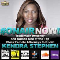 Eliott Interviews Trademark Attorney, Kendra Stephen