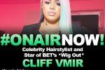 Sejoya Interviews Celebrity Hairstylist, Cliff Vmir