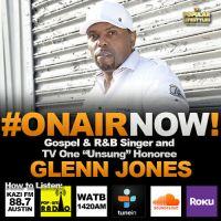 "Terri TV Interviews Gospel and R&B singer and TV One ""Unsung"" Honoree, Glenn Jones"