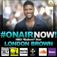 "Allison Interviews HBO ""Ballers"" Star, London Brown for Season 5"