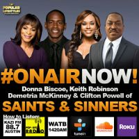 "The Cool Kids Interview Cast of Bounce TV's ""Saints & Sinners"""