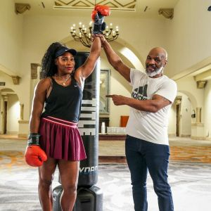 Serena Williams Teaming Up With Mike Tyson?