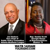 Joe Hudson of ABL and GA House Rep. Sandra Scott