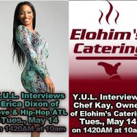 Erica Dixon and Chef Kay