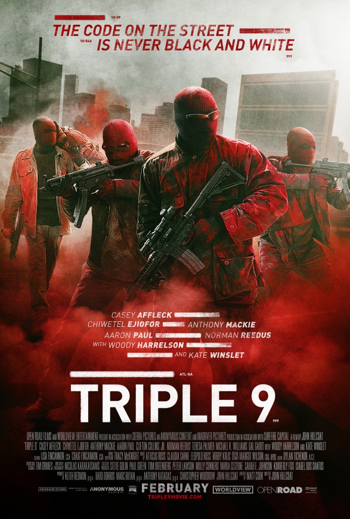 Triple 9 - Movie Artwork